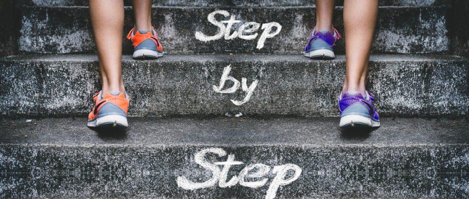 努力 一歩一歩
